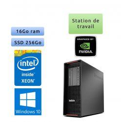 Lenovo ThinkStation P500 - Windows 10 - E5-1650v3 16Go 256Go SSD - Port Serie - Ordinateur Tour Workstation PC