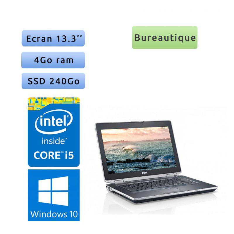 Dell Latitude E6320 - Windows 10 - i5 4Go 240Go SSD - 13.3 - Ordinateur Portable PC