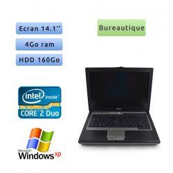 Dell Latitude D620 - Windows XP - C2D 1.83Ghz 2Go 160Go - 14.1 - Port Serie - Grade B - Ordinateur Portable PC