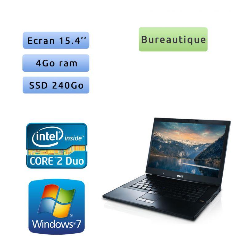 Dell Latitude E6500 - Windows 7 - 2.53Ghz 4Go 240Go SSD - 15.4 - Ordinateur Portable PC