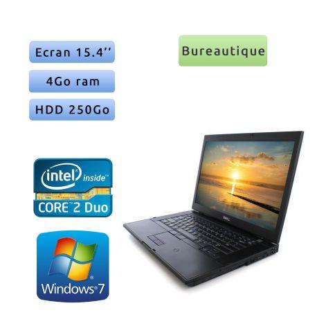 Dell Latitude E6500 - Windows 7 - 2.53Ghz 4Go 250Go - 15.4 - Ordinateur Portable PC