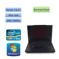 Dell Latitude E4300 - Windows 7 - C2D 2.4Ghz 4Go 240Go SSD - 13.3 - Grade B - Ordinateur Portable PC
