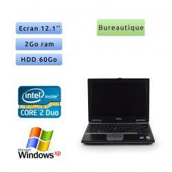 Dell Latitude D430 - Windows XP - C2D 1.06Ghz 2Go 60Go - 12.1 - Grade B - Ordinateur Portable PC