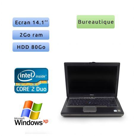 Dell Latitude D620 - Windows XP - C2D 1.66Ghz 2Go 80Go - 14.1 - Port Serie - Grade B - Ordinateur Portable PC