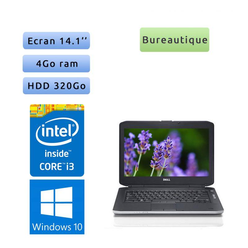 Dell Latitude E5430 - Windows 10 - i3 4GB 320GB - 14.1 - Webcam - Ordinateur Portable PC