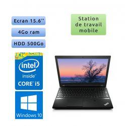 Lenovo ThinkPad L540 - Windows 10 - i5 4Go 500Go - 15.6 - Workstation Ordinateur Portable PC