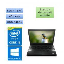 Lenovo ThinkPad L540 - Windows 10 - i5 4GB 500GB - 15.6 - Ordinateur Portable PC