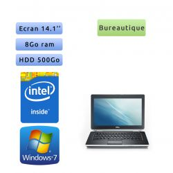 Dell Latitude E5430 - Windows 7 - 1,9Ghz 8Go 500Go - 14.1 - Webcam - Ordinateur Portable PC
