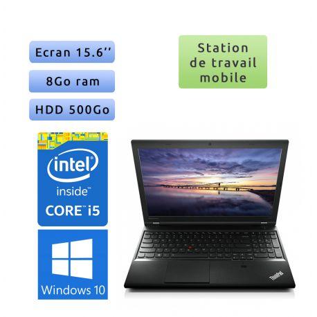 Lenovo ThinkPad L540 - Windows 10 - i5 8Go 500Go - 15.6 - Ordinateur Portable PC