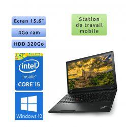 Lenovo ThinkPad L540 - Windows 10 - i5 4Go 320Go - 15.6 - Ordinateur Portable PC Workstation