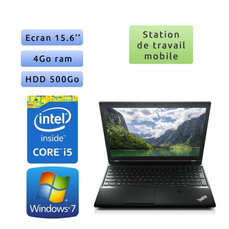 Lenovo ThinkPad L540 - Windows 7 - i5 4Go 500Go - 15.6 - Ordinateur Portable Workstation PC