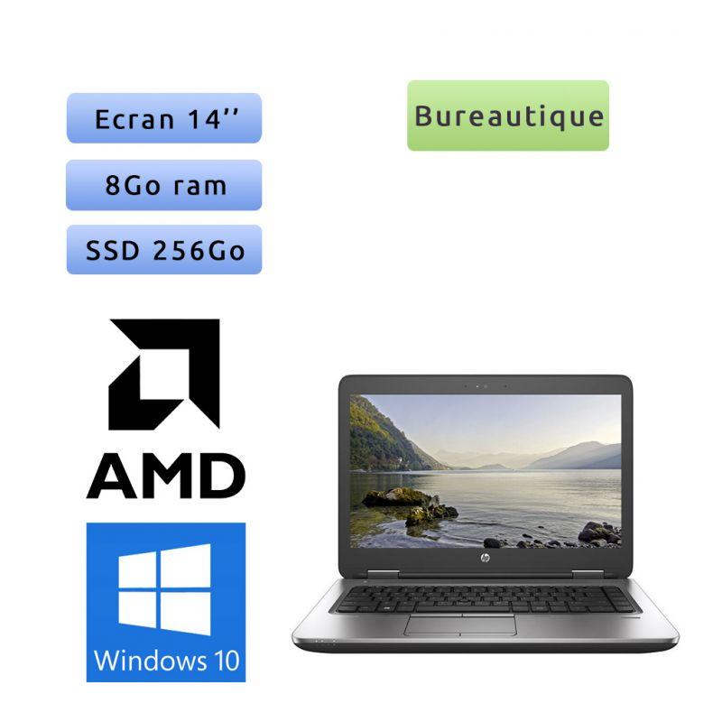HP ProBook 645 G3 - Windows 10 - AMD A10 8Go 256Go SSD - 14 - Webcam - Ordinateur Portable PC