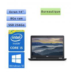 Dell Latitude 5480 - Windows 10 - i5 8Go 256Go SSD - 14 - Webcam - Ordinateur Portable PC