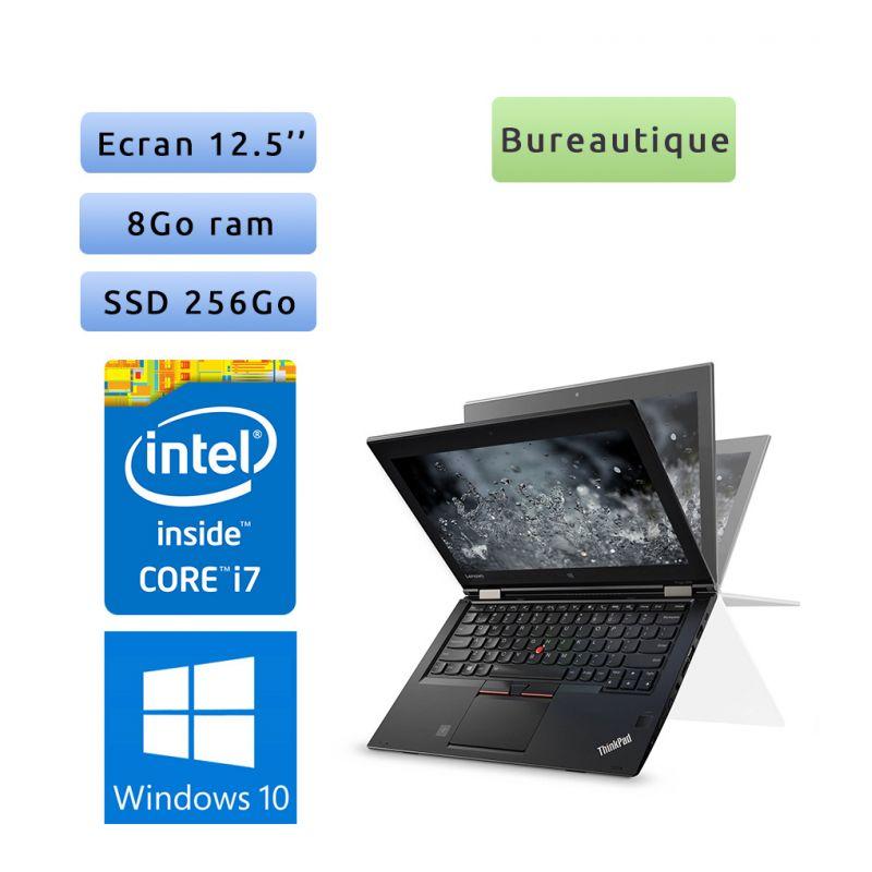 Lenovo ThinkPad Yoga 260 - Windows 10 - i7 8Go 256Go SSD - 12.5 - Webcam - Ordinateur Portable PC