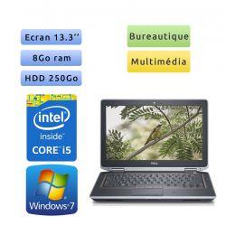 Dell Latitude E6320 - Windows 7 - i5 8Go 250Go - 13.3 - Ordinateur Portable PC