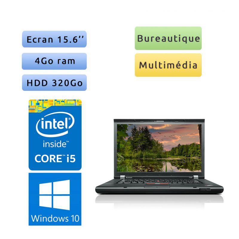 Lenovo ThinkPad T530 - Windows 10 - i5 4Go 320Go - 15.6 - Webcam - Ordinateur portable