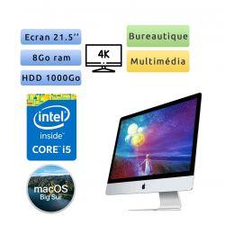 Apple iMac 21.5'' 4K A1418 (EMC 2833) Core i5 - 8Go 1000Go - iMac16,2 - Unité Centrale