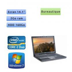 Dell Latitude D630 - Windows 7 - C2D 2Go 160Go - 14.1 - Ordinateur Portable PC