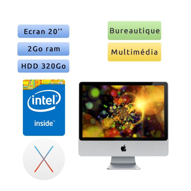 """Apple iMac 20"""" A1224 (EMC 2266) 2.66GHz 2GB 320GB - Unité Centrale"""