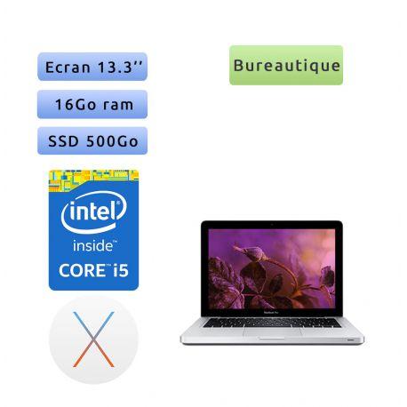 Apple MacBook Pro A1278 (EMC 2554) 13.3'' i5 2.5GHz - 16Go 500Go SSD - Ordinateur Portable Apple