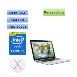 Apple MacBook Pro A1278 (EMC 2554) 13.3'' i5 2.5GHz - 4Go 500Go - Ordinateur Portable Apple