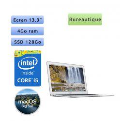 Apple MacBook Air A1466 (EMC 2925) i5 4Go 128Go SSD - 13.3'' - Ordinateur Portable