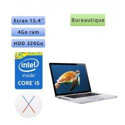Apple MacBook Pro A1286 (EMC 2353) i5 4Go 320Go - 15.4'' - Ordinateur Portable