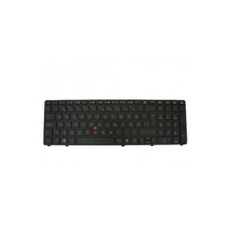 HP WorkStation Keyboard QWERTY 8760W - 652553-031