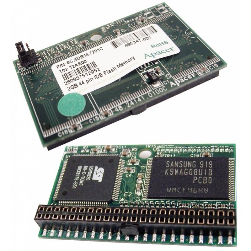 Disque Flash 2GB IDE - T2AE00 Apacer - 495347-001 - 8C.4DB14.7201C