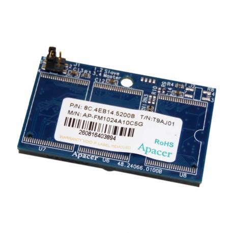 Disque Flash 1GB IDE - T9AJ01 Apacer - AP-FM1024A10C5G - 8C.4EB14.5200B