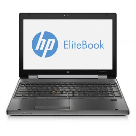 Hp EliteBook Workstation 8570w - Windows 7 - i7 320GB 8GB - 15.6 - Webcam - Station de Travail Mobile PC Ordinateur