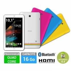 Polaroid MIDK147 16 Go Rainbow+ 10.1 - Android 4.4- Tablette Multimedia Tactile