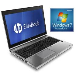 HP EliteBook 8560p - Windows 7 - i5 4GB 250GB - HD6470M - 15.4 - Webcam - Station de Travail Mobile PC Ordinateur
