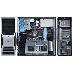 Station de travail Dell Precision T5500 - Windows 7 - E5620 8GB 1000GB - Ordinateur Tour Workstation PC