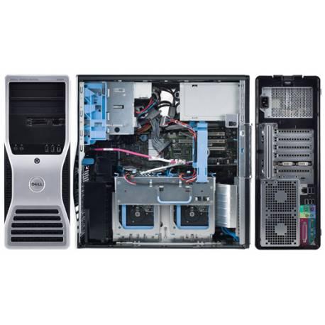 Station de travail Dell Precision T5500 - Windows 7 - E5620 16GB 500GB SSD - Ordinateur Tour Workstation PC