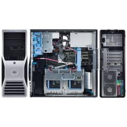 Station de travail Dell Precision T5500 - Windows 7 - E5620 12GB 2000GB - GTX 1080 - Ordinateur Tour Workstation PC