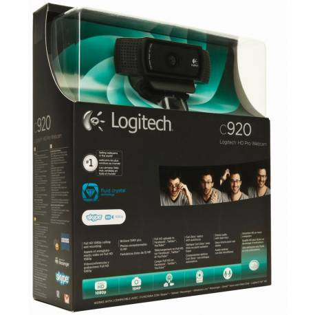 Webcam HD Pro C920 Logitech - Camera 1080p