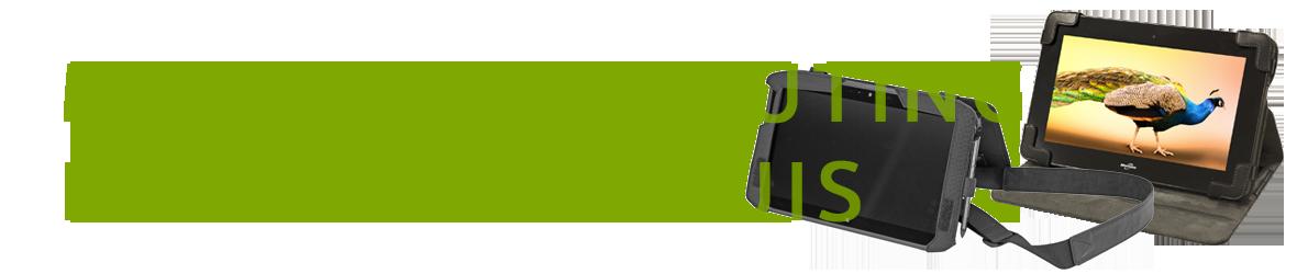 Motion Computing - Housses et étuis de transport